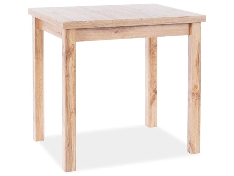 Stôl ADAM dub WOTAN 90x65