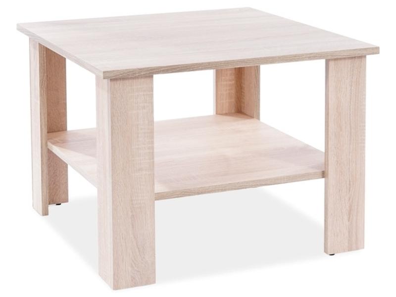 Konferenčný stolík ARIEL K dub SONOMA 67x67x50