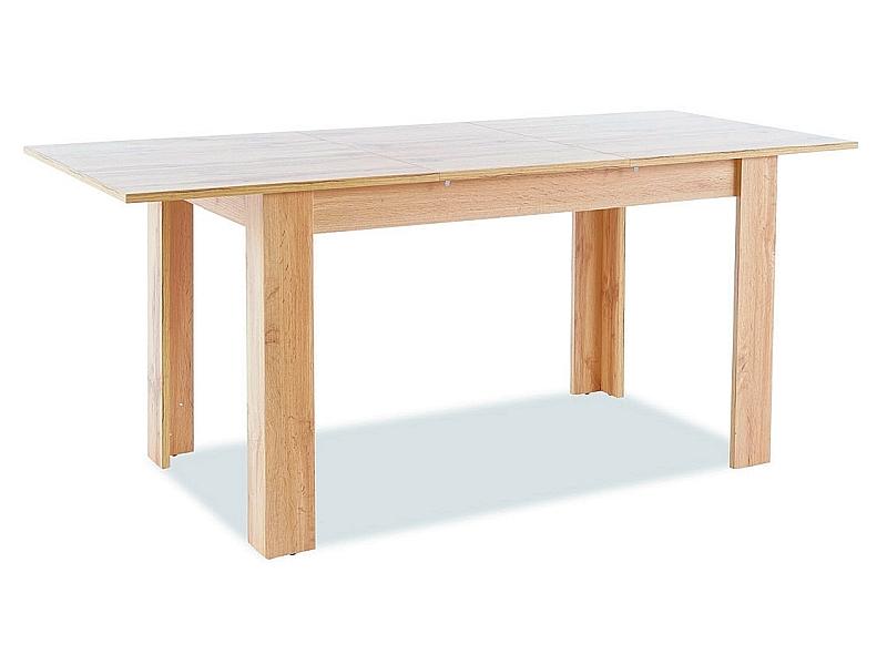 Stôl AVIS II dub WOTAN 120(155)x68