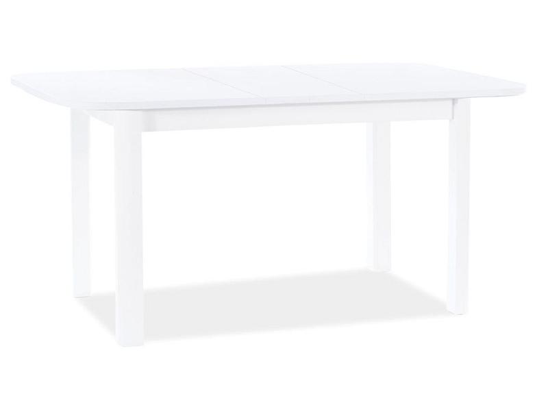 Stôl DIEGO II biela matná 105(140)X65