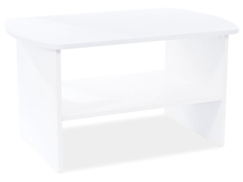 Konferenčný stolík HEKA biela matná 90X60X50