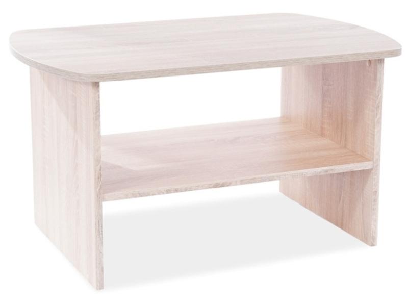 Konferenčný stolík  HEKA dub SONOMA 90X60X50