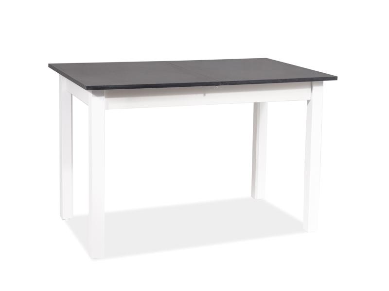 Stôl HORACY biela matná 100(140)x60