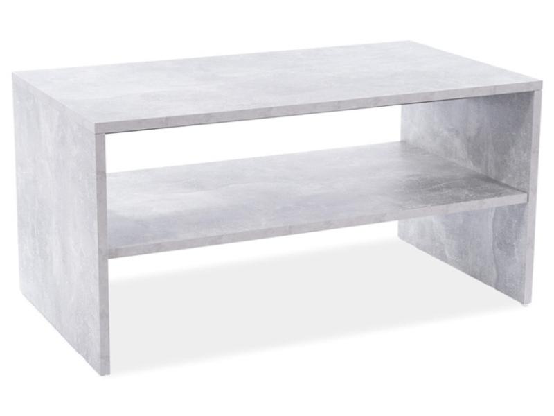 Konferenčný stolík SIMPLE biela matná 90X50X45