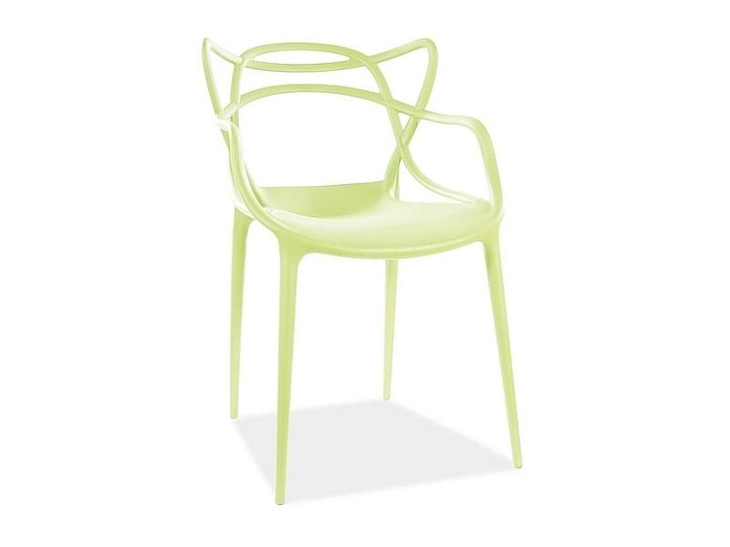Jedálenská stolička TOBY zelená